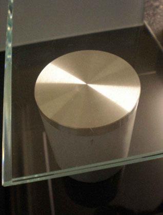 Turbo Glastechnik H. Rottler | Adapterplatte Edelstahl 85mm mit M 8 XS88
